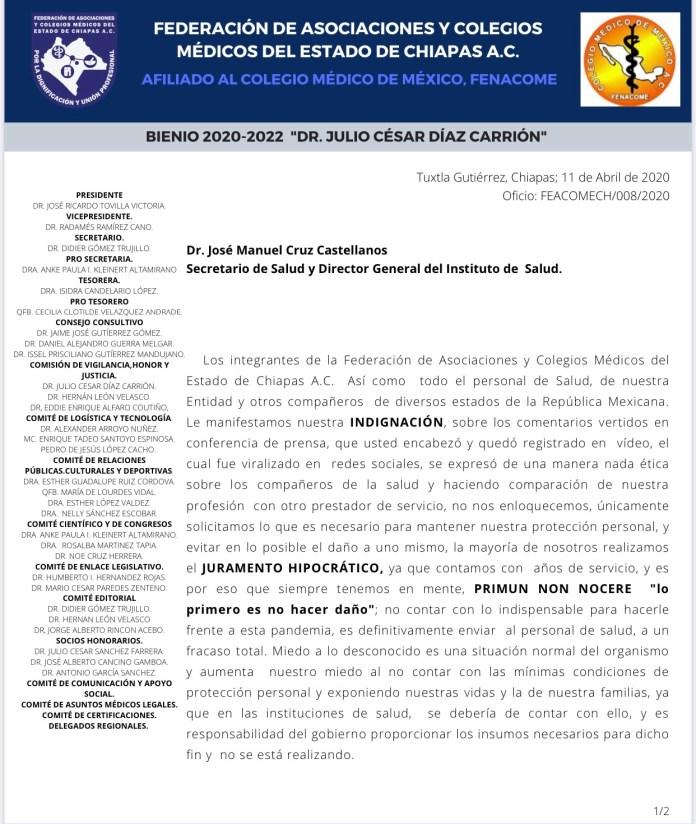 ¡Revuelta de personal médico en Chiapas! IMG 9203