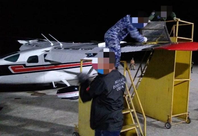 Aseguran avioneta y 157 kilos de coca en Palenque b2c70813 65d9 4371 9ed7 584a7aff8436