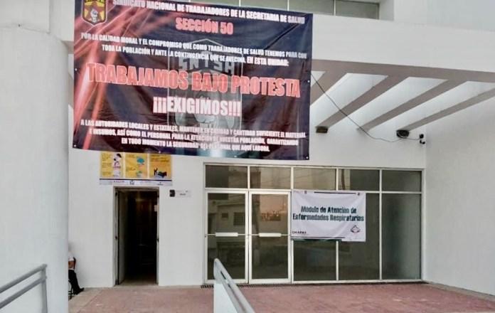 ¡Revuelta de personal médico en Chiapas! b4fa14ad 5796 4977 a92f e2a5092153b7