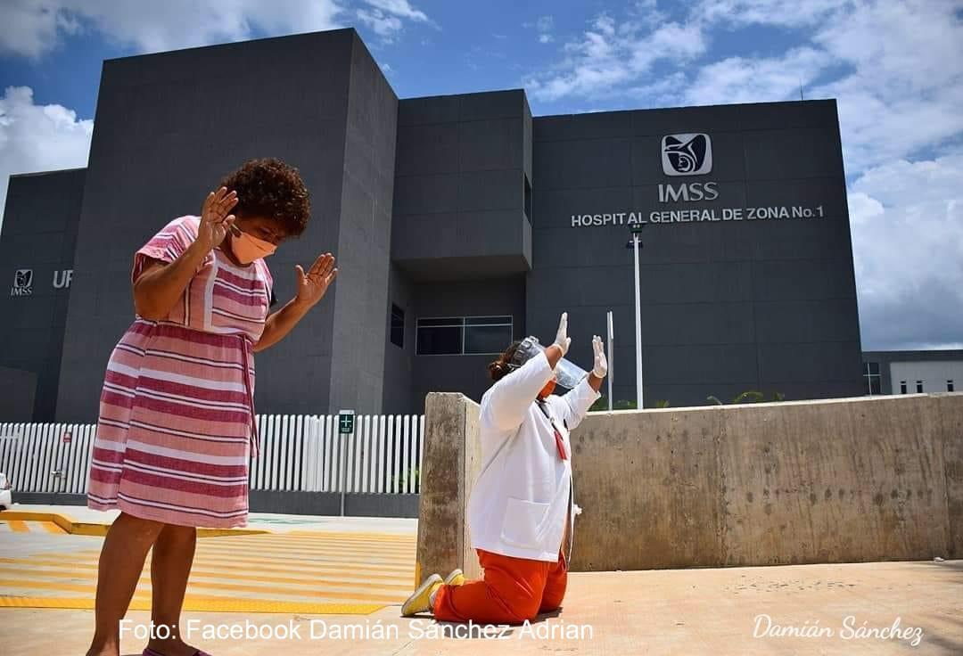 Obispo de Tapachula bendice hospitales Covid