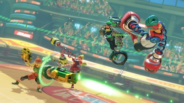 Arms Screen 10
