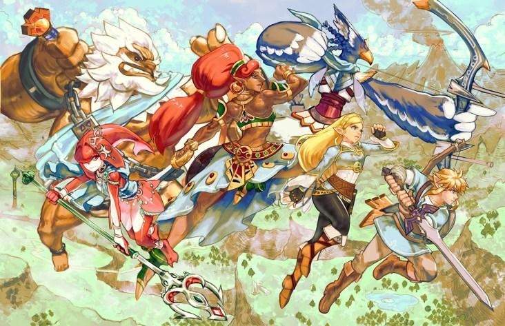Zelda Breath of the Wild DLC 1 art