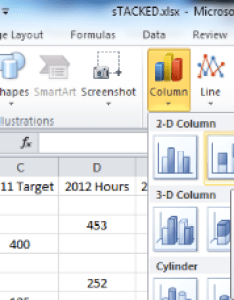 also create combination stacked clustered charts in excel  user friendly rh alesandrab wordpress