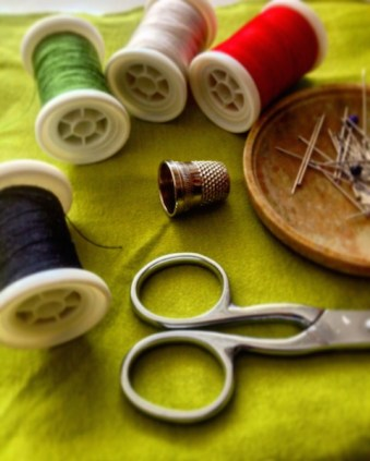 material costura, slow life