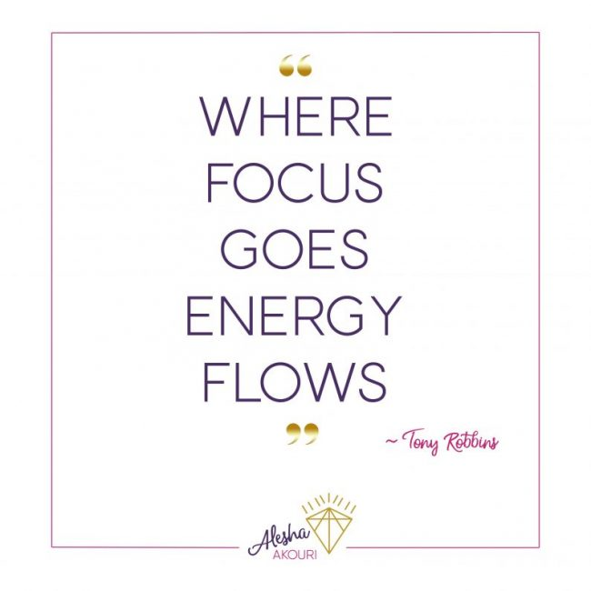 Watch Where Your Energy Goes