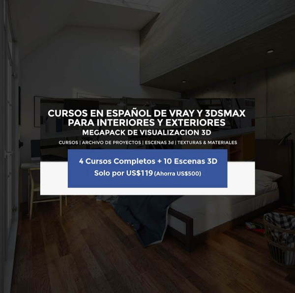 Curso-Interiores-con-Vray-Post-3d tutorial-vray-espanol-3dsmax