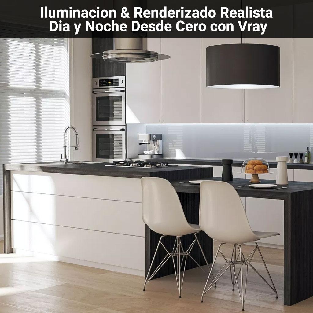 Iluminacion-&-Renderizado-Realista-de-Dia-y-Noche-Desde-Cero-con-Vray