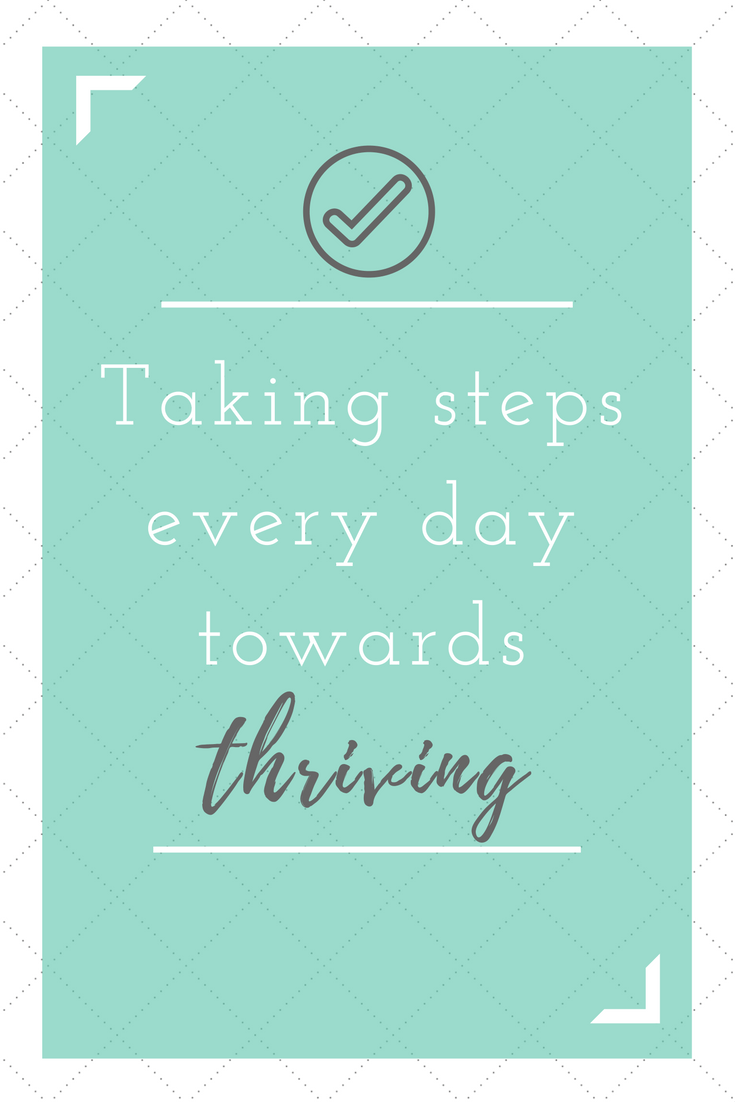 Taking Steps: [Weekly Affirmation Deep Dive