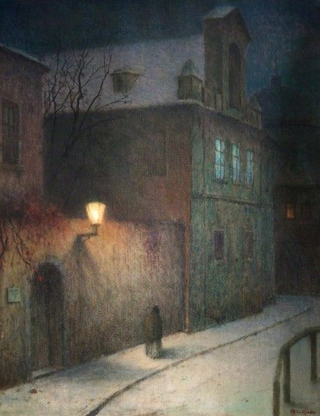 lelucidinverno-a-street-in-winter-1905-10-by-jakub-schikaneder