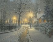 lelucidinverno-thomas-kinkade-winter-chapel