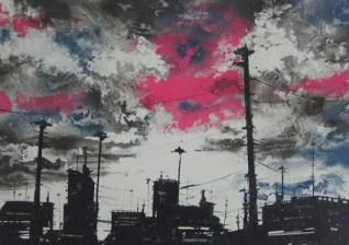 """""""Landscape"""" - Serie """"Suburban Blues"""" 2013"""