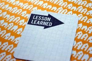 LessonLearned1