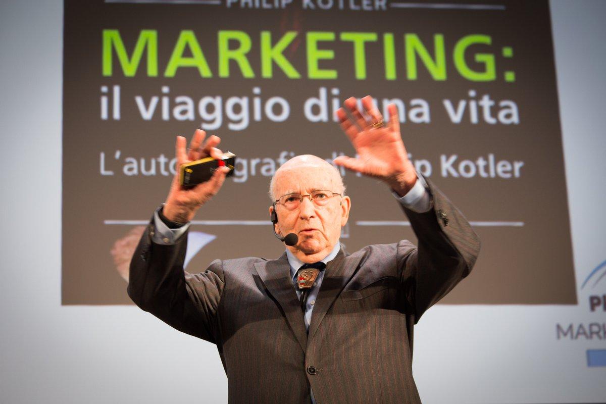 Philip Kotler al #PKMF2018: il Marketing per un'Azienda Gentile