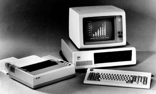 PC IBM - 1981