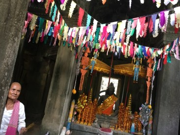 Altare del Buddha - Cambogia