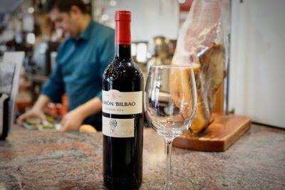 Cafetería Alcalá Alcobendas - Botella de vino