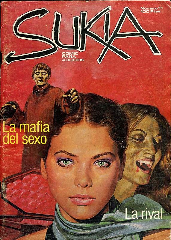 Cinque dive italiane erotiche a fumetti  Plutonia