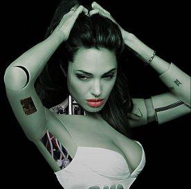 Cyborg Angelina Jolie