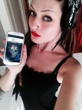 """Charlotte Silver promuove """"Isole del Terrore"""" - http://www.amazon.it/dp/B00XNF6K76"""