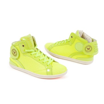 barons-fluo-yellow-perforated-leather