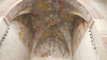 Gli affreschi dell'antica Basilica di S. Agostino..