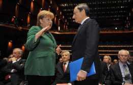 BCE: PASSAGGIO CONSEGNE PRESIDENZA; PARLANO TRICHET E DRAGHI