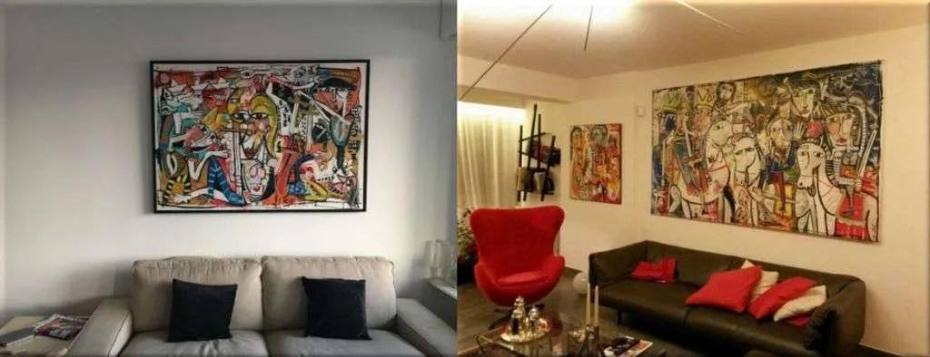 Vendita quadri moderni dellartista contemporaneo