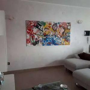 Mobili soggiorno parete attrezzata per soggiorno design moderno grigio e bianca laccata beverly la parete soggiorno beverly rappresenta l'arredo componibile. Quadri Per Arredamento Casa Pezzi Unici Dipinti A Mano Dall Artista Siviglia