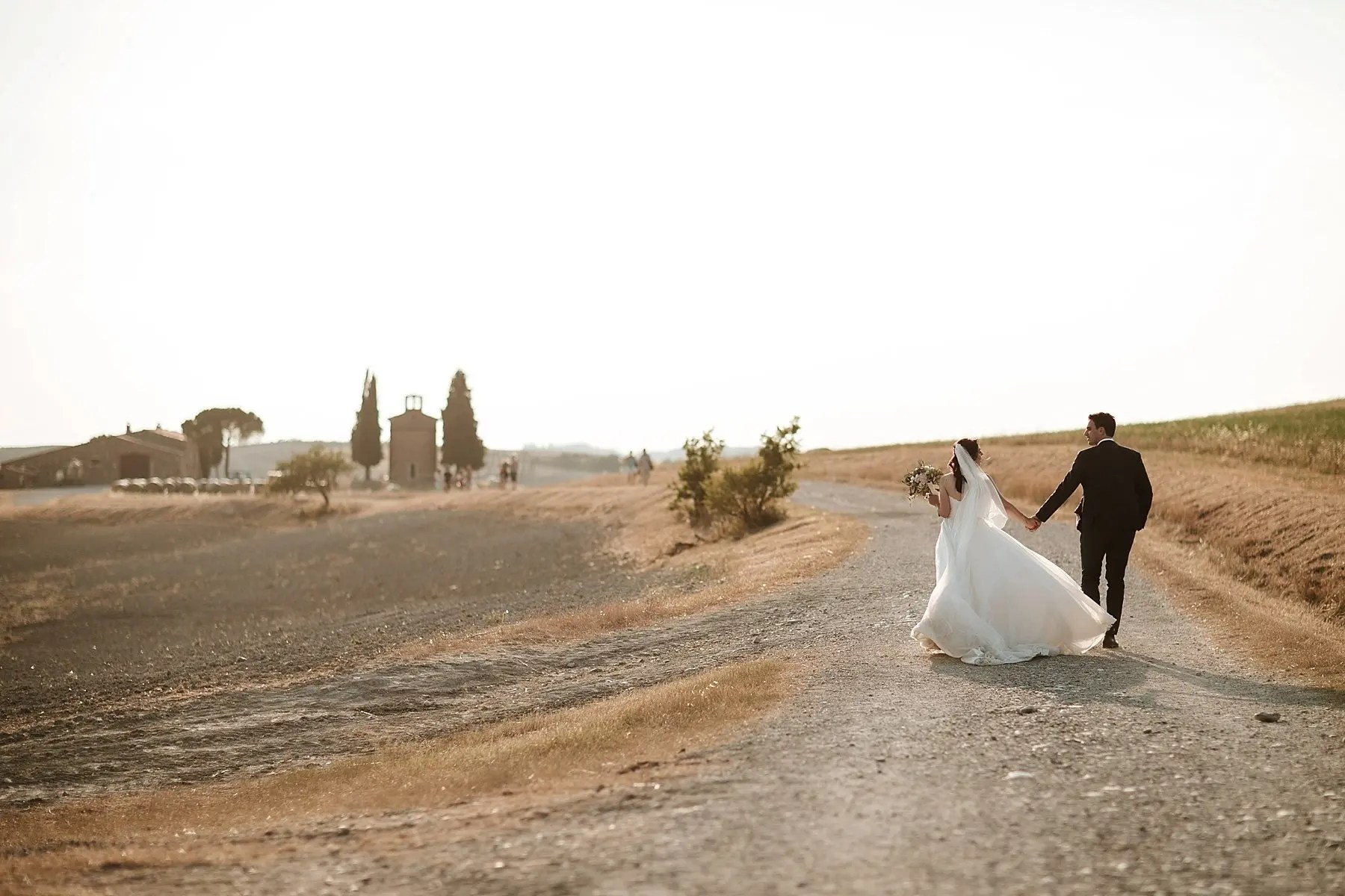Wedding in Tuscany coutryside
