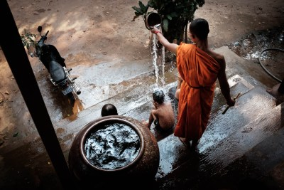 water blessing