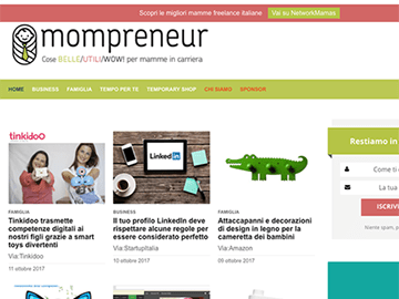 Mompreneur.it (con eshop)