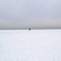 """Disappearance"", photography, ice lake, 2012"