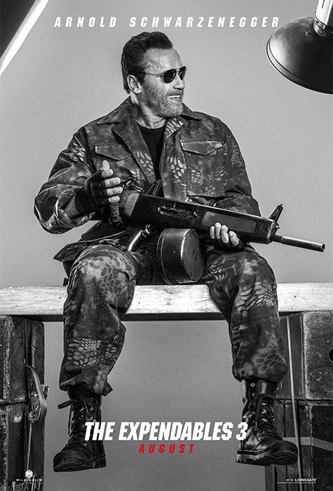 Arnold Schwarzenegger expendables 3 poster
