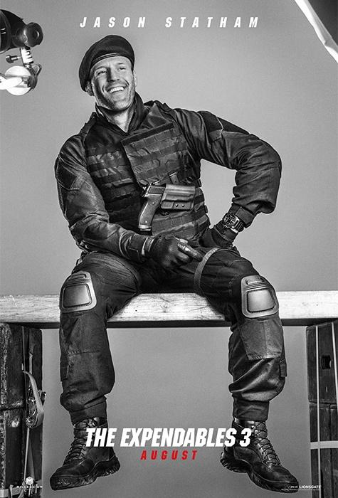 Jason Statham expendables 3 poster
