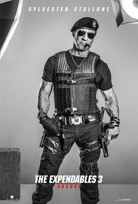 Sylvester Stallone expendables 3 poster