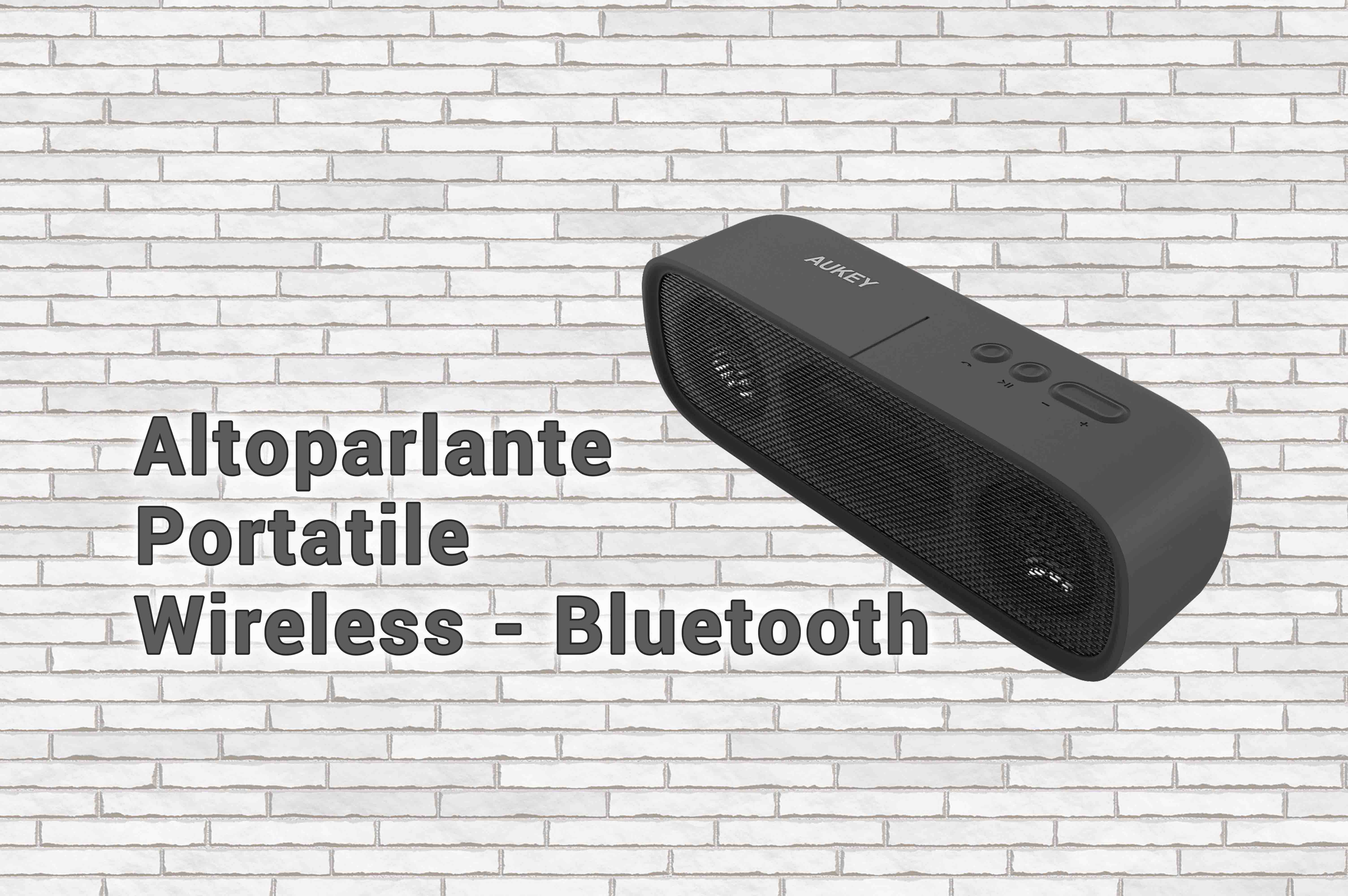 AUKEY Altoparlante Portatile Wireless