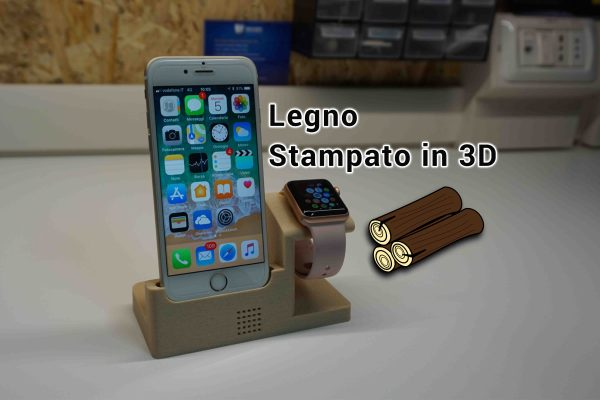 Legno stampato in 3D? PLA Wood by 3DFilum
