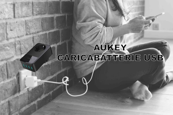 Aukey Caricabatterie USB