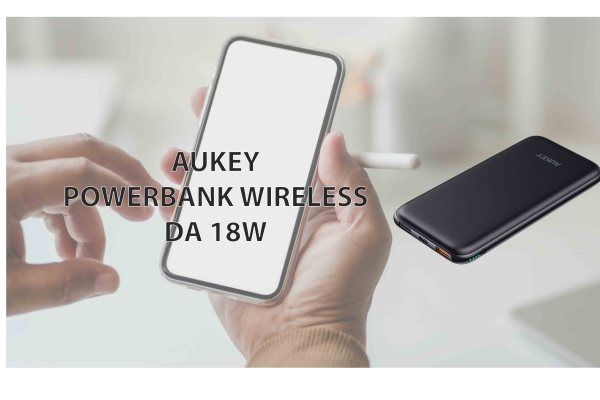 AUKEY Powerbank Wireless con 18W da 8000mAh