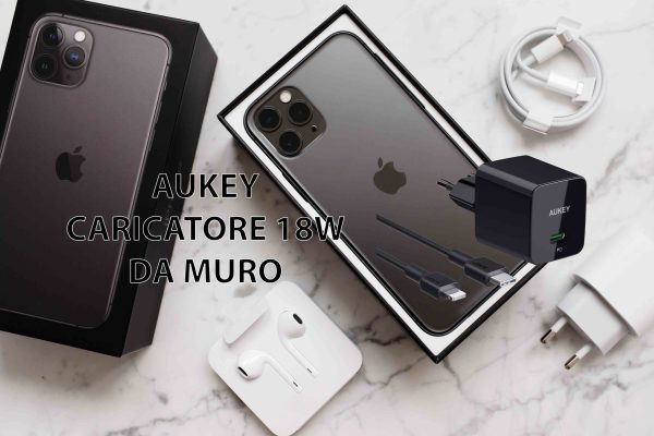 AUKEY Caricatore USB-C da 18W con Power Delivery 3.0