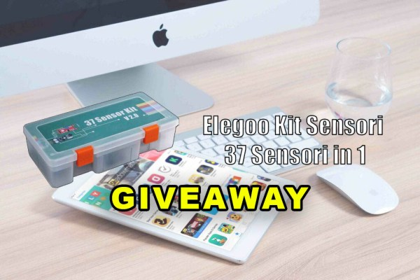 Elegoo Kit di Sensori 37 in 1, una possibile IDEA REGALO PER NATALE