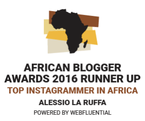 Runner Up Top Instagrammer In Africa African Blogger Awards 2016