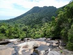 Seven Waterfalls Geoforest Park Area Langkawi