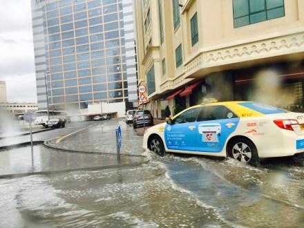 Schlechtes Wetter Dubai