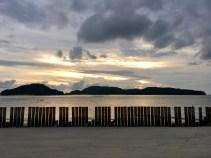 Penang Beach Langkawi Sonnenuntergang