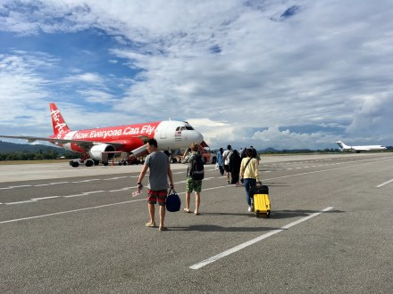 Air Asia Flug