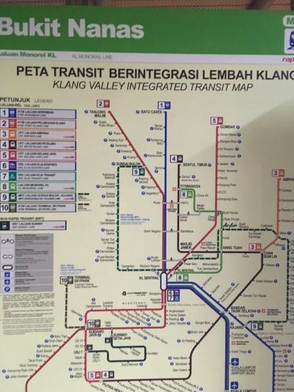Transit Map Public Transport KL