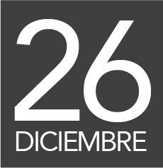 26 diciembre