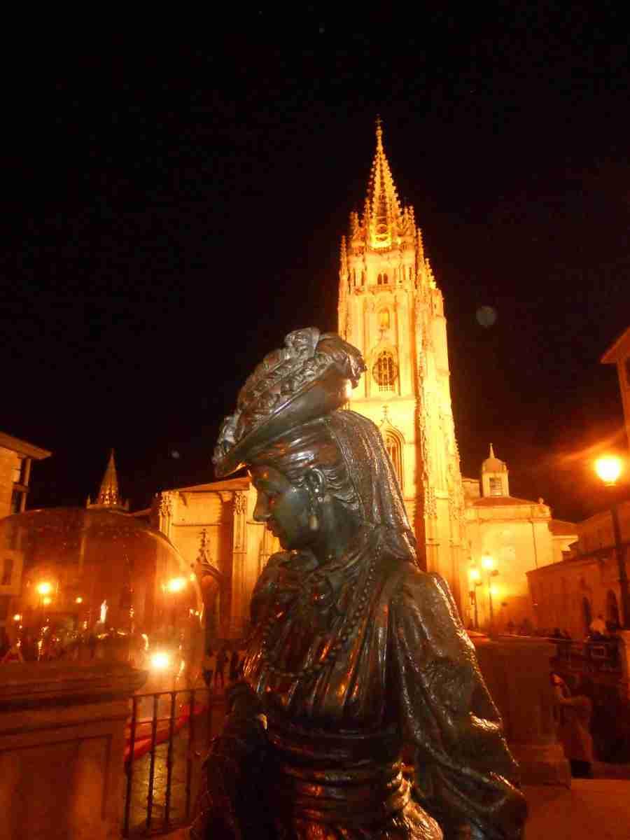 Oviedo eterna en Navidad