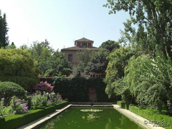 La Alhambra de Granada.